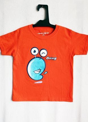 Детская хлопковая футболка caribbean
