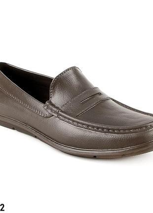 Мокасины мужские, литые, р. 40 - 46, обувь медицинская, 315002