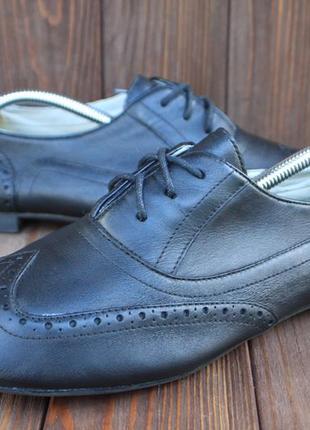 Туфли clarks кожа англия 40,5р броги