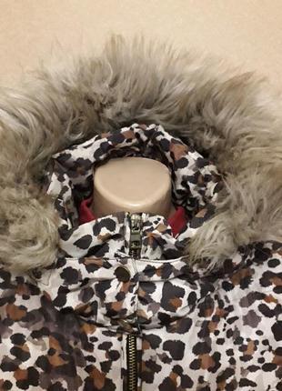 Леопардовая куртка2 фото