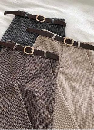 New🔥базовые брюки классика / брюки кашемир 👍тренд сезона👍цена 💣