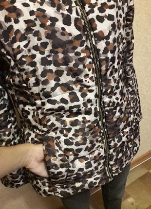 Леопардовая куртка3 фото