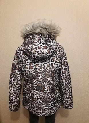 Леопардовая куртка4 фото