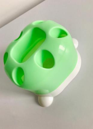 Органайзер для зубных щёток, стакан для щеток, органайзер в ванную.