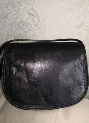 Роскошная кожаная сумка vera pelle💣💣👜👜💥