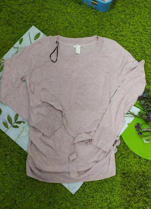 Ніжно рожева кофта на вагітних від нм