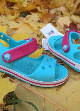 Новые сандалии crocs crocband. оригинал