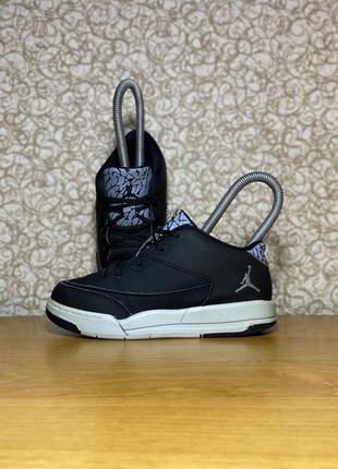 Кожаные высокие кроссовки nike jordan flight origin 3 оригинал размер 26