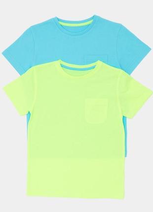 Набор футболок от dunnes stores на 5-6 лет, англия