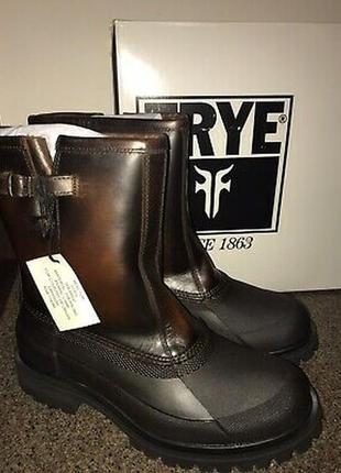 Frye alaska pull on кожаные ботинки сапоги утепленные 10,5