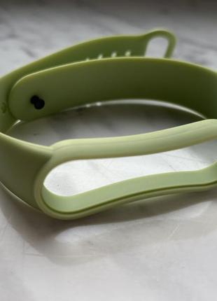 Ремешок xiaomi mi band 5 оливковый