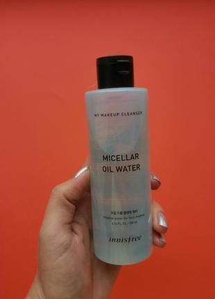 Двухфазная мицеллярная вода innisfree my makeup cleanser micellar oil water: