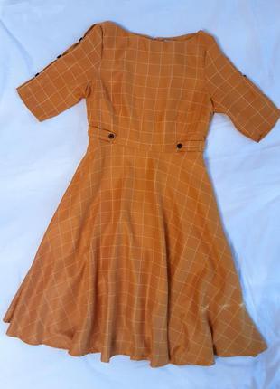 Оригинальное платье в клетку banned retro