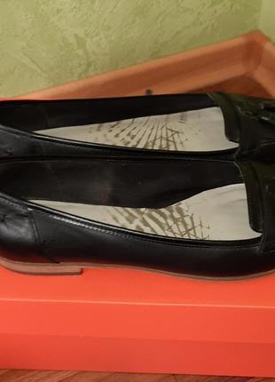 Туфли кожаные, clark's 41 размер