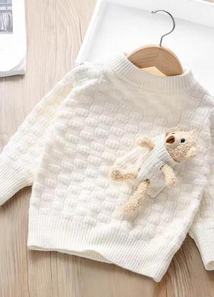 В'язана кофта, светр, вязаный свитер1 фото