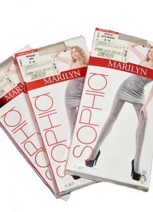 Женские ажурные колготки marilyn sophia 120 den 36093