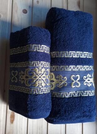 Cestepe vip cotton. набор турецких полотенец. полотенца. рушники.