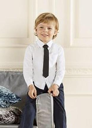 Черный галстук для мальчика, 110, на 4-5 лет, lupilu, германия