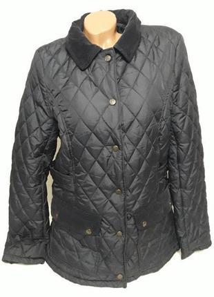 Демисезонная стеганная куртка l/xl (швеция)