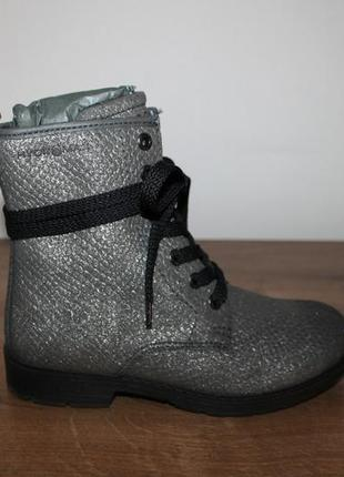 Кожаные ботинки ecco hydromax 33, 34, 35 размеры