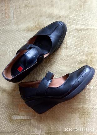 Осенние туфли\полуботинки  clarcs модельный ряд softline