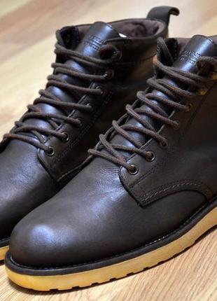 Selected,  оригинал фирменные  кожаные ботинки