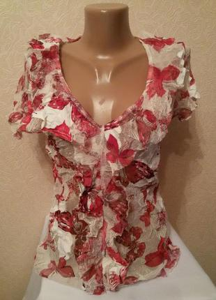 Блуза с рюшами per una