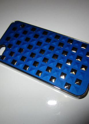 Синій стильний новий чехол на iphone 4  з німеччини