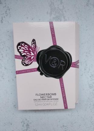 Пробник парфума viktor&rolf flowerbomb nectar