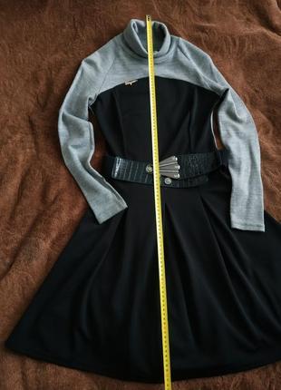 Стильне тепле осіннє, зимове платтяч сукня, м-л, дешево3 фото