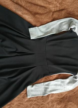 Стильне тепле осіннє, зимове платтяч сукня, м-л, дешево2 фото
