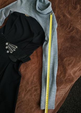 Стильне тепле осіннє, зимове платтяч сукня, м-л, дешево4 фото