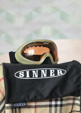 Горнолыжные очки sinner зимние