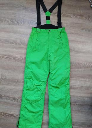 Новые лыжные штаны на подтяжках active touch