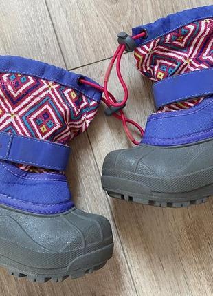 Зимові чоботи чобітки/сапоги columbia