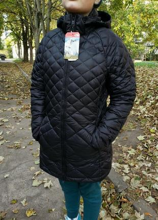 Микропуховок пуховик пальто куртка the north face tnf оригинал