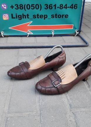 Кожаные туфли clark's  (clarks)