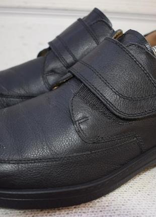 Кожаные туфли мокасины полуботинки jomos aircomfort р.43 28,5 см