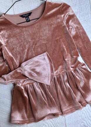 Нарядная блуза new look размер s-m