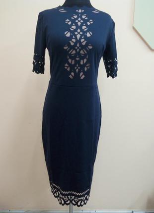 Шикарное платье с перфорацией