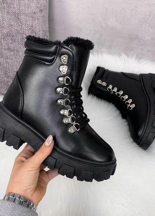 Зимние ботиночки =seben= экокожа