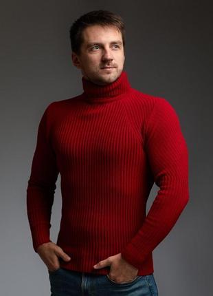Мужской теплый гольф