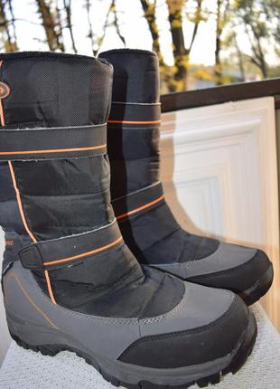 Зимние ботинки сноубутсы дутики everest watertex р.43 28,5 см сапоги термоботинки