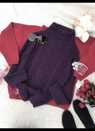 Актуальний свитшот світер оверсайз реглан пуловер водолазка