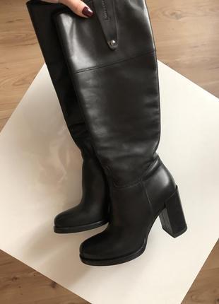Ботинки кожаные шкіряні чоботи