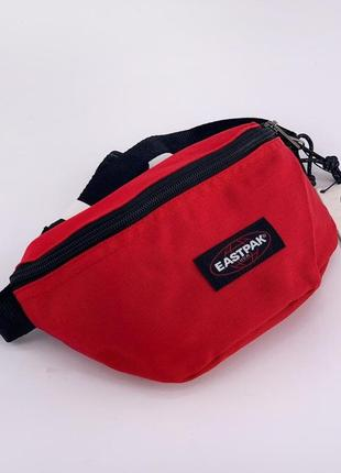 Поясна сумка eastpak doggy bag red бананка