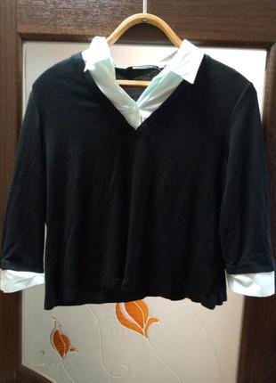 Свитер-сорочка