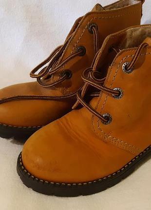 Сапоги ботинки демисезон зима salamander kids 28 размер по стельке 17...18 см