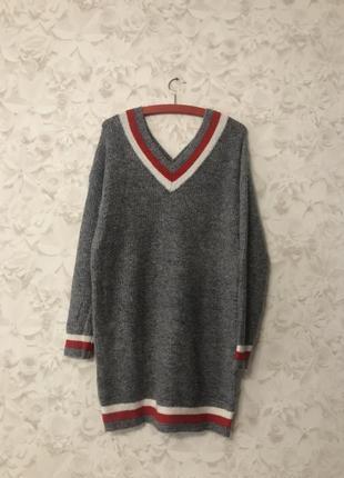 Удлиненный теплый свитер luzabelle!