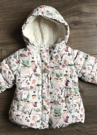 Детская курточка, зимняя детская курточка для девочки, зимняя детская курточка